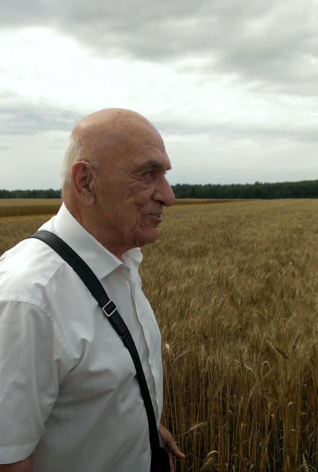 Автор уникальных сортов пшеницы академик Баграт Сандухадзе