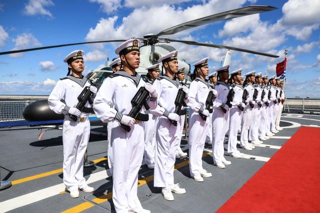 Годовщину создания народно-освободительной армии Китая отметили в Минске