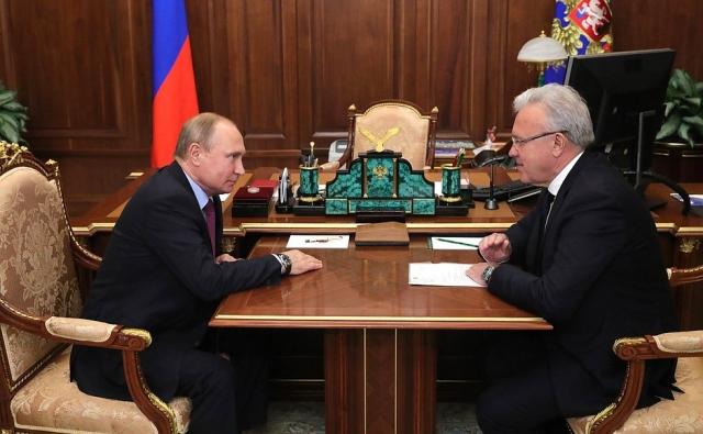 Усс на встрече с Путиным «заострил внимание» на Универсиаде в Красноярске