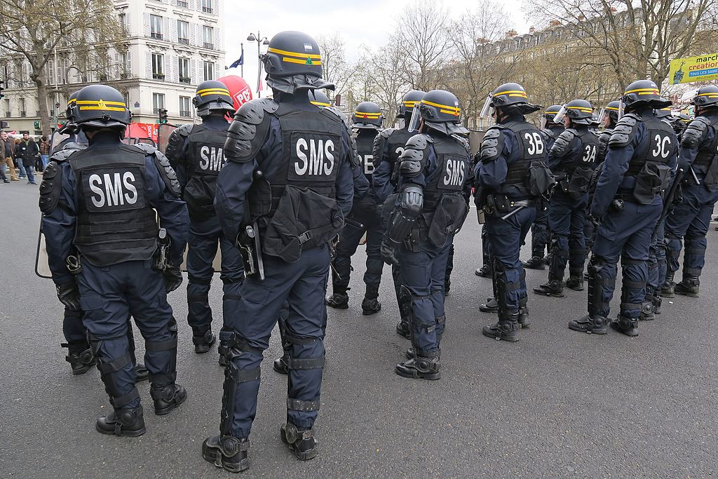 Французский полицейский спецназ