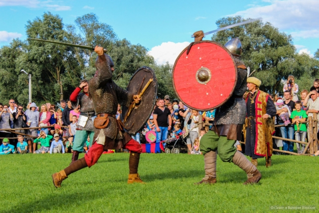 Турнир по древнерусскому футболу проведут на фестивале «Княжья братчина»
