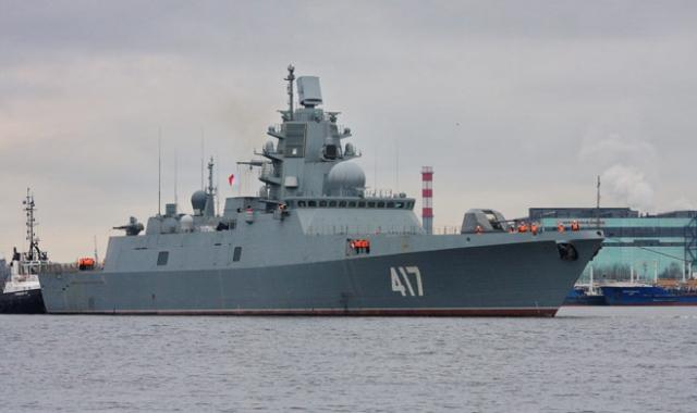 Военные эксперты США оценили вооружение фрегата «Адмирал Горшков»