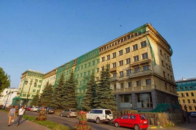 «Россия» под «откос»  дело о нижегородском здании-памятнике пересмотрят d65aab4fb92