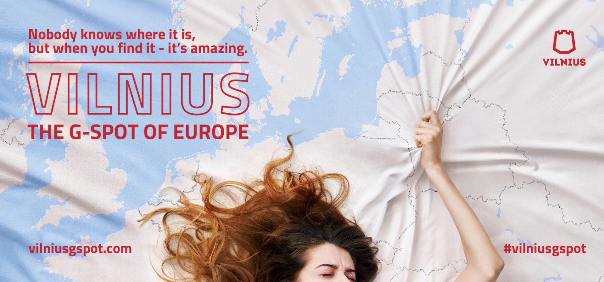 Рекламный плакат Вильнюса