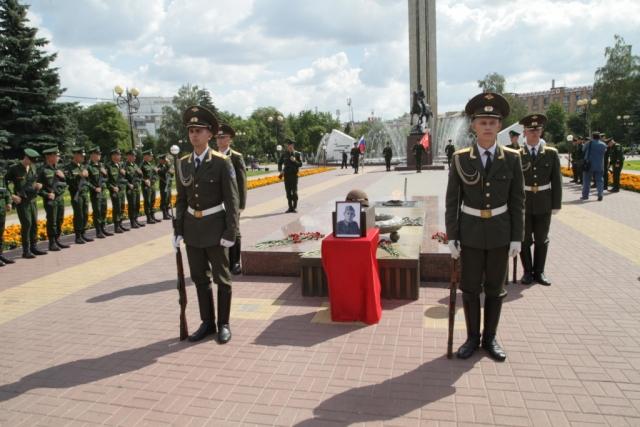 В Белоруссию из-под Калуги отправили останки командира Красной армии