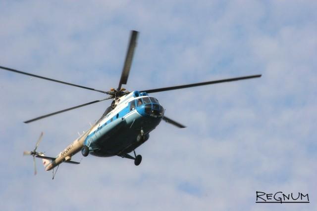 Прокуратура начала проверку по факту крушения Ми-8 в Красноярском крае