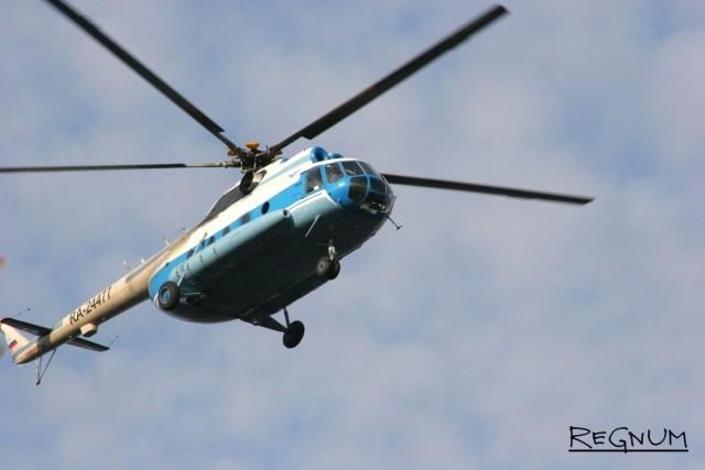 UTair: Ми-8, разбившийся в Красноярском крае, был исправен