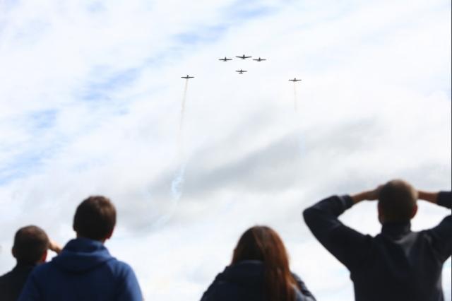 «Настоящий триумф авиации» под Новосибирском собрал десятки тысяч человек