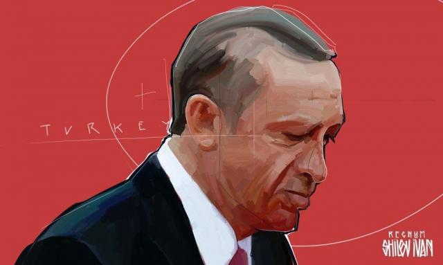 Эрдоган размышляет о «разводе» с Трампом