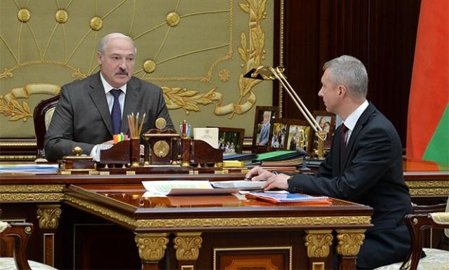 Александр Лукашенко и Владимир Колтович