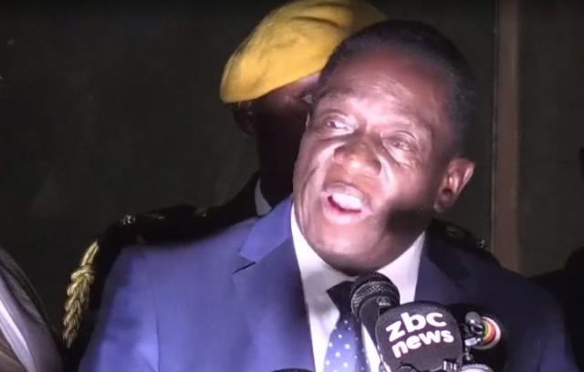 Си Цзиньпин поздравил Эммерсона Мнангагву с избранием президентом Зимбабве