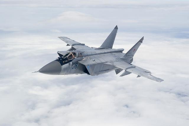 В Красноярском крае по тревоге подняты истребители МиГ-31БМ