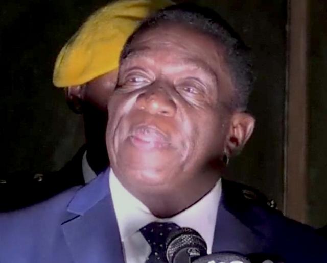 Лидер КНР поздравил президента Зимбабве с победой на выборах