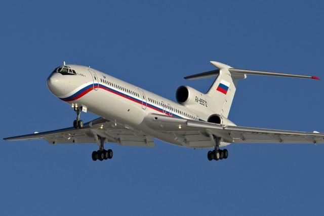 Разбившийся Ту-154Б-2 за 7 месяцев до катастрофы