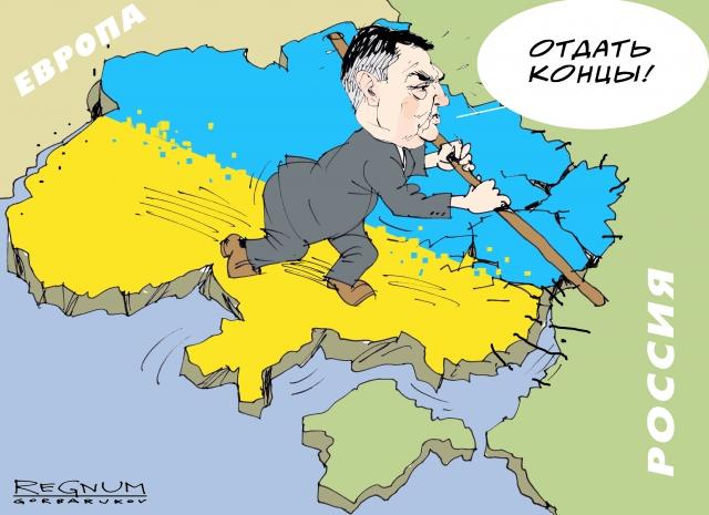 У Порошенко после отмены поездов с Россией хотят ввести еще и визовый режим