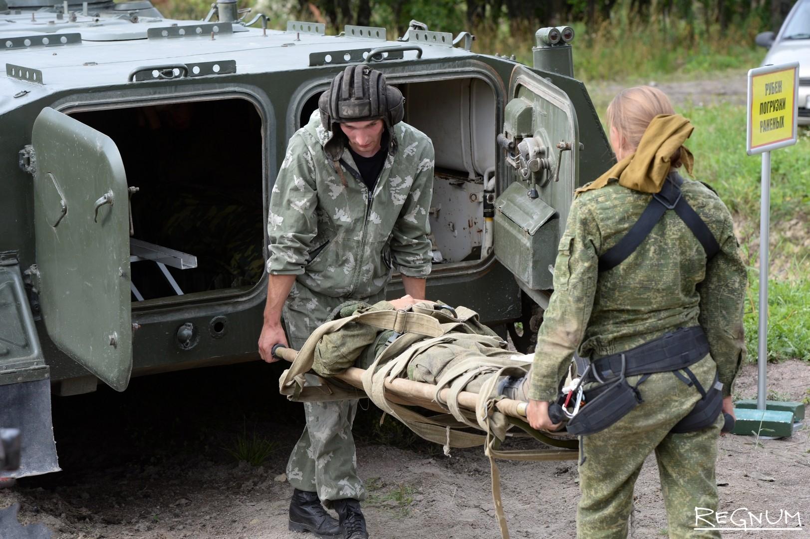 Международные игры Военно-медицинской эстафеты в Красном Селе