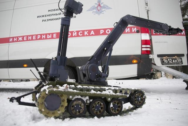 Первый робот-сапёр «Кобра-1600» поступил в Центральный военный округ