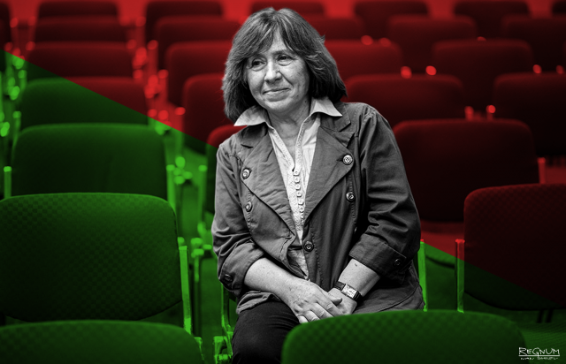 В Одессе сорвано выступление писательницы Алексиевич