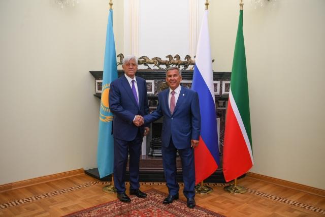 Встреча c делегацией Алматинской области Республики Казахстан