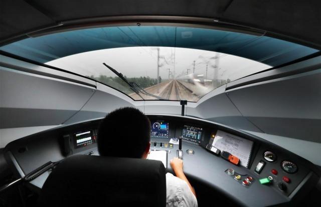Две трети мировых высокоскоростных железных дорог находятся в Китае
