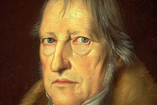 Георг Гегель. Портрет кисти Якоба Шлезингера. 1831