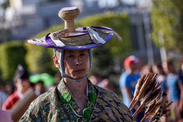 В Москву впервые привезли японское искусство Ябусамэ