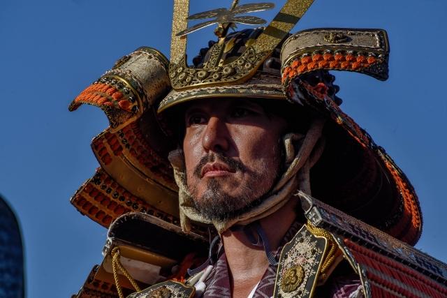 Торжественный парад, посвящённый традиционной амуниции для Ябусамэ на ВДНХ