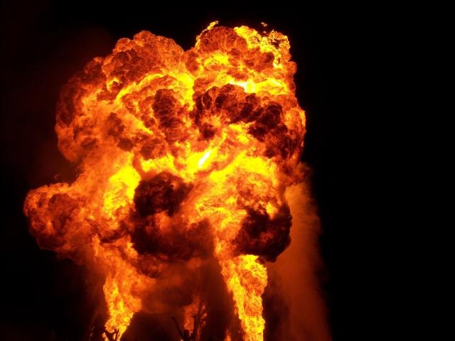 На военном заводе в Солсбери произошел взрыв