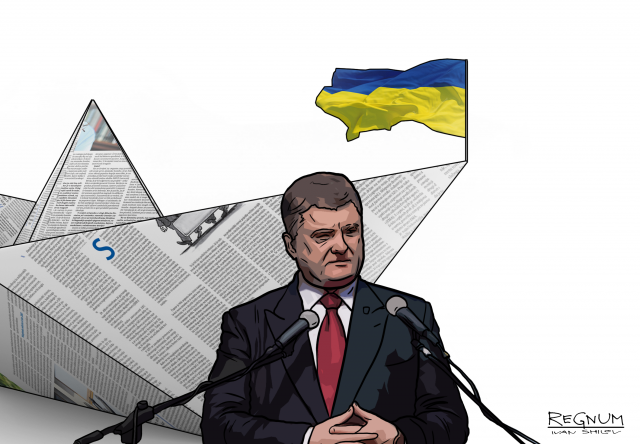 «Пусть занимается Украиной»: В Крыму ответили Порошенко на слова о флаге