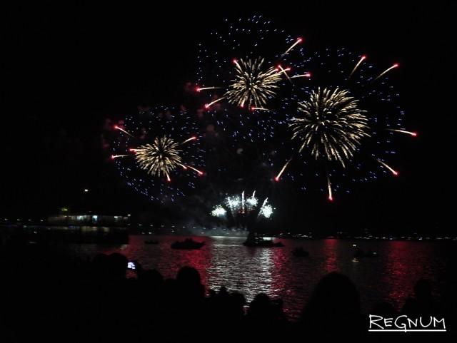 Фестиваль фейерверков «Серебряная ладья». Кострома — 2018