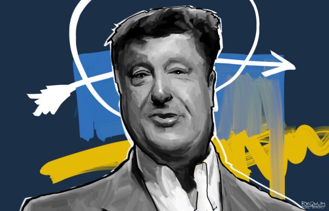 Порошенко допустил три ошибки, цитируя украинский гимн