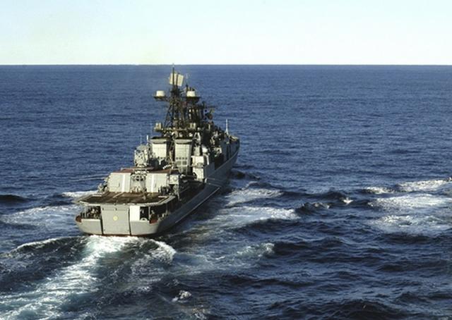 Корабли Тихоокеанского флота России проводят учения в Японском море