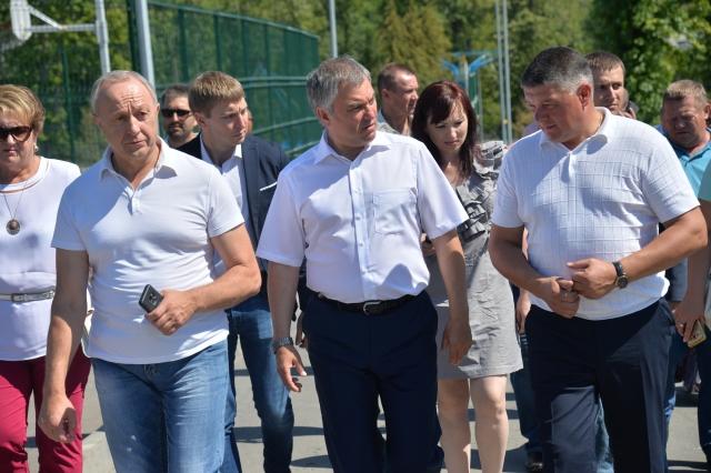 Продолжается поездка Вячеслава Володина в Саратовскую область