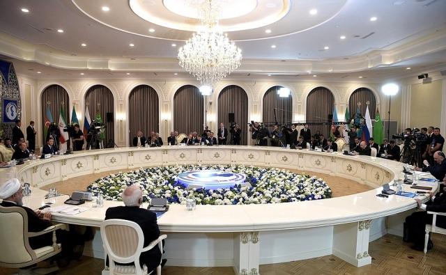 Лидеры каспийских стран подписали Конвенцию о правовом статусе Каспия