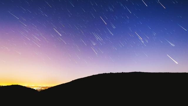 Ради метеоритного дождя власти израильского города выключили освещение