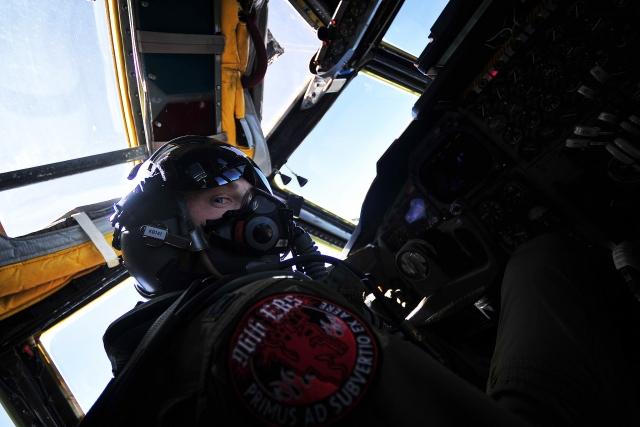 Пилот бомбардировщика B-52 ВВС США