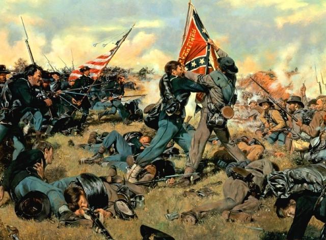 Гражданская война в США. Битва за Геттисберг. 1863