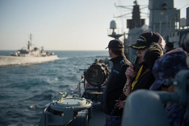 НАТО станет чаще проводить учения в Черном море вместе с Украиной и Грузией