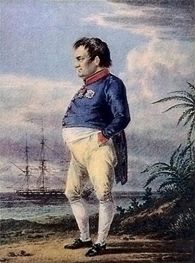 Наполеон на острове Святой Елены