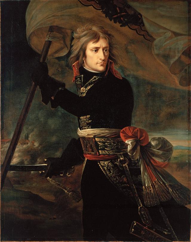 Антуан Жан Гро. Наполеон Бонапарт на Аркольском мосту. 1796–1797