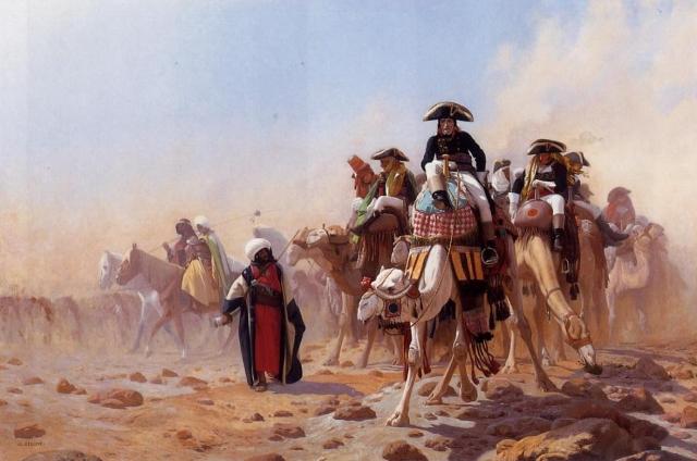 Жан Леон Жером. Наполеон в Египте. 1867