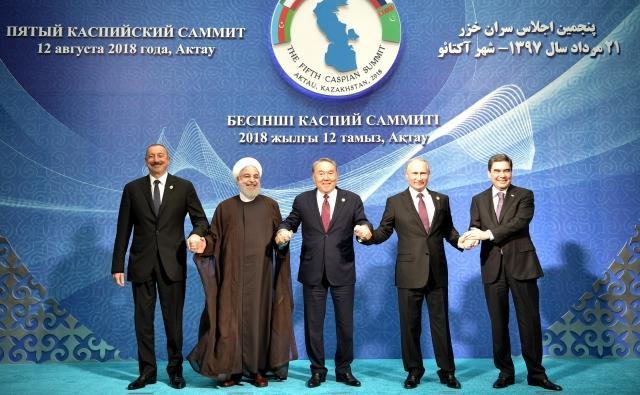 Участники саммита «Каспийской пятёрки»