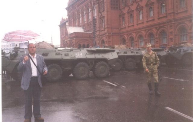 БТР-80 на Красной Площади