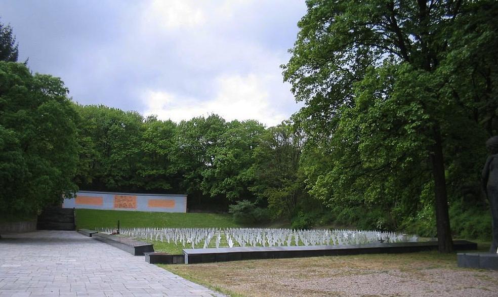 Кладбище советских солдат в Гданьске