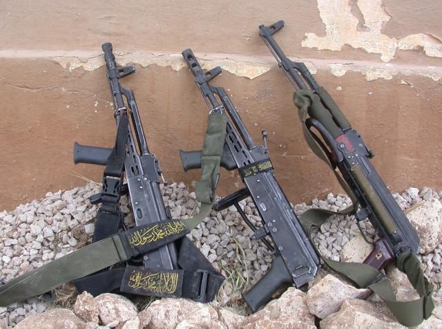 Оружие боевиков