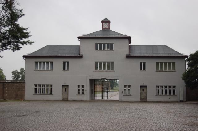 Ворота концлагеря Заксенхаузен