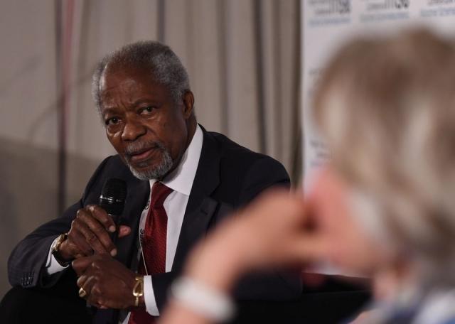 Глава МИД РФ выразил соболезнования в связи со смертью Кофи Аннана