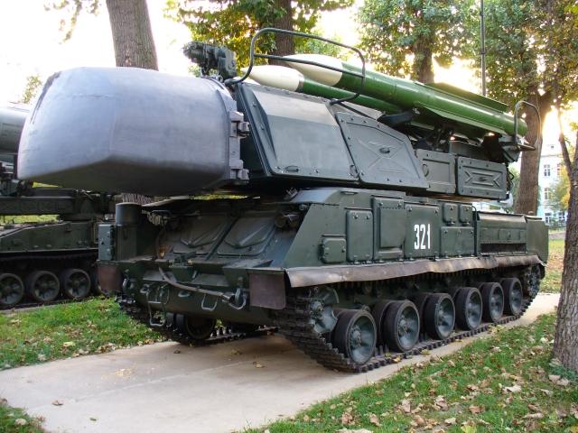 Зенитная установка «Бук» врезалась в бизнес-центр в Киеве