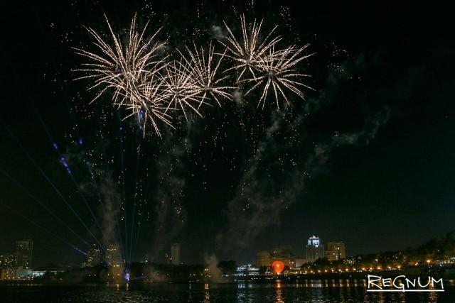 Екатеринбург отметил своё 295-летие: фоторепортаж