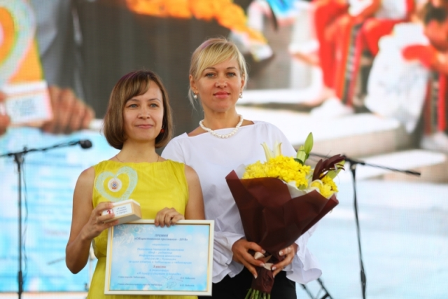 Председатель комиссии по социальному развитию парламента Чебоксар Наталья Ванеркина и шеф-редактор ИА REGNUM Наталия Николаева